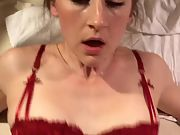 Stunning wifey fucked and creampied